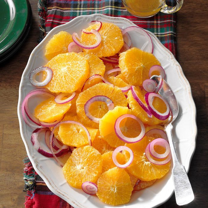 Salads: Easy Orange and Red Onion Salad