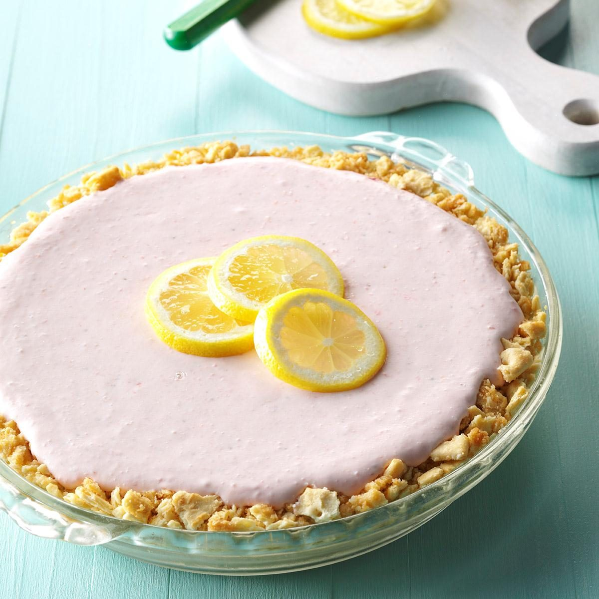 Easy Pink Lemonade Pie