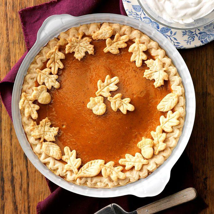 Illinois: Pumpkin Pie