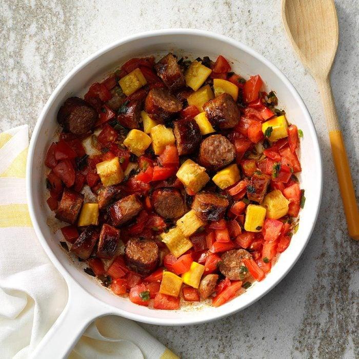Easy Sausage and Vegetable Skillet