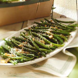 Easy Sesame Green Beans