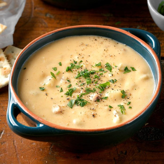 Easy Slow-Cooked Potato Soup
