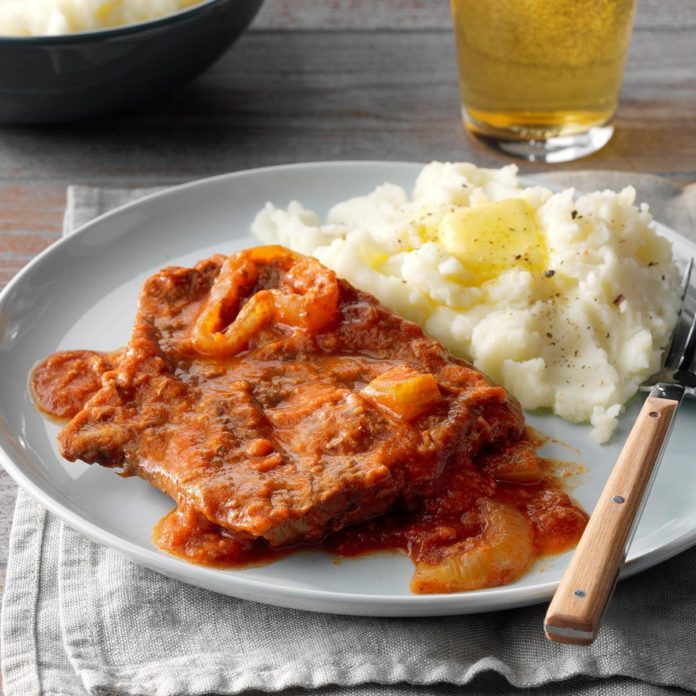 Easy Slow-Cooked Swiss Steak