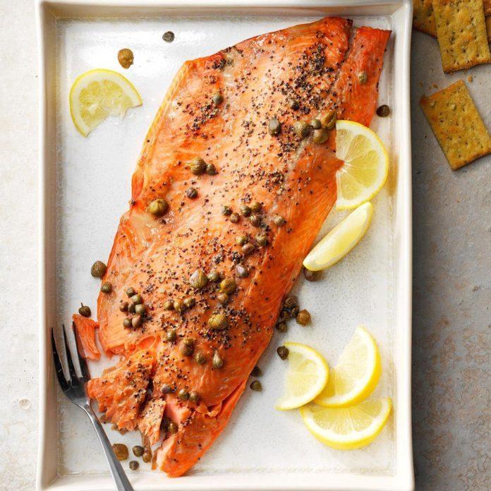 Michigan: Easy Smoked Salmon