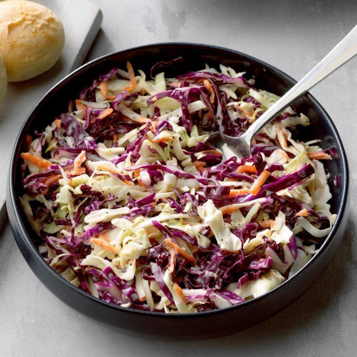This Easy Coleslaw Recipe Belongs in Your Recipe Box