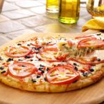 Easy Three-Cheese Pesto Pizza
