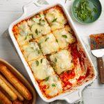 Easy Vegetable Lasagna