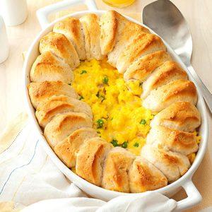 Egg Biscuit Bake