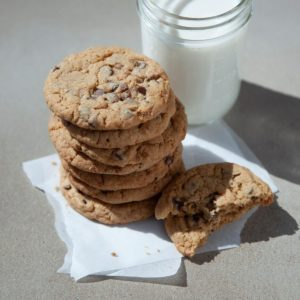 Egg-Free Toffee Chip Cookies