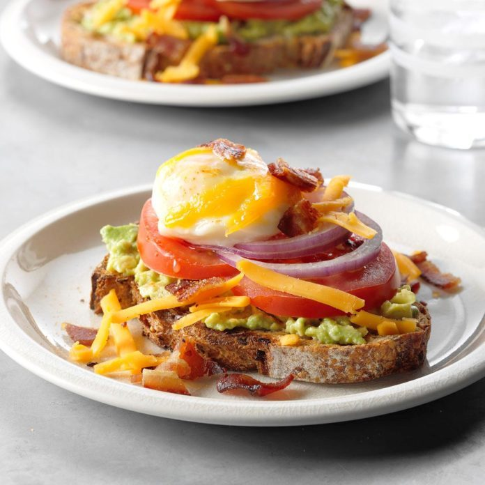 Egg-Topped Avocado Toasts