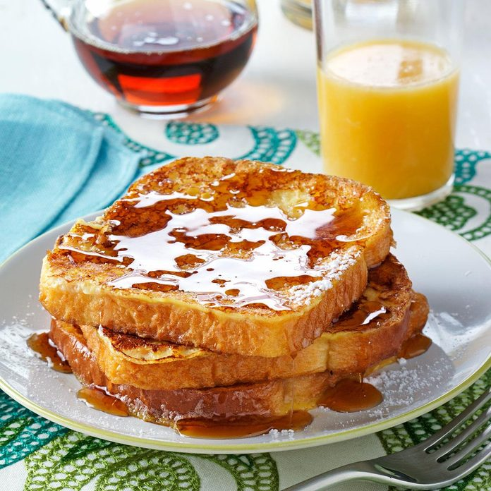 New Mexico: Eggnog French Toast