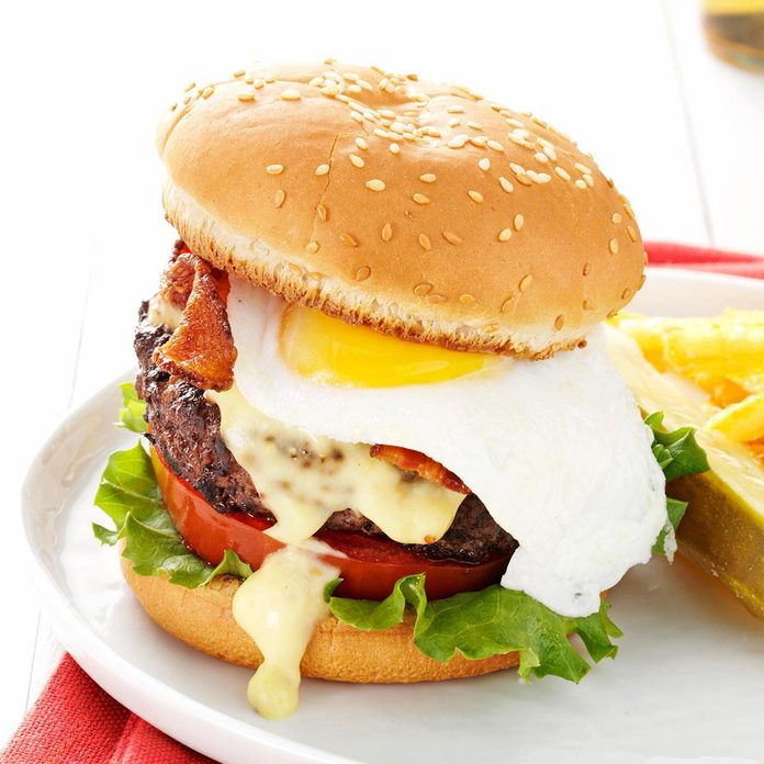 Inspired by: All-Day Brunch Burger