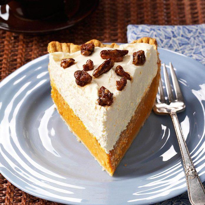 Elegant Pumpkin Pie