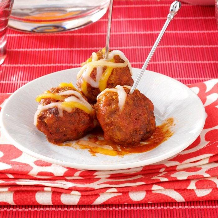Enchilada Meatballs