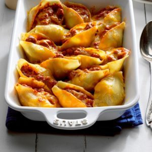 Enchilada Stuffed Shells