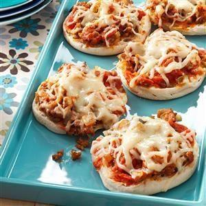 English Muffin Pizza Joes