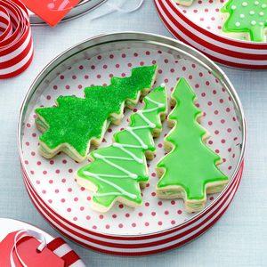 Evergreen Sandwich Cookies