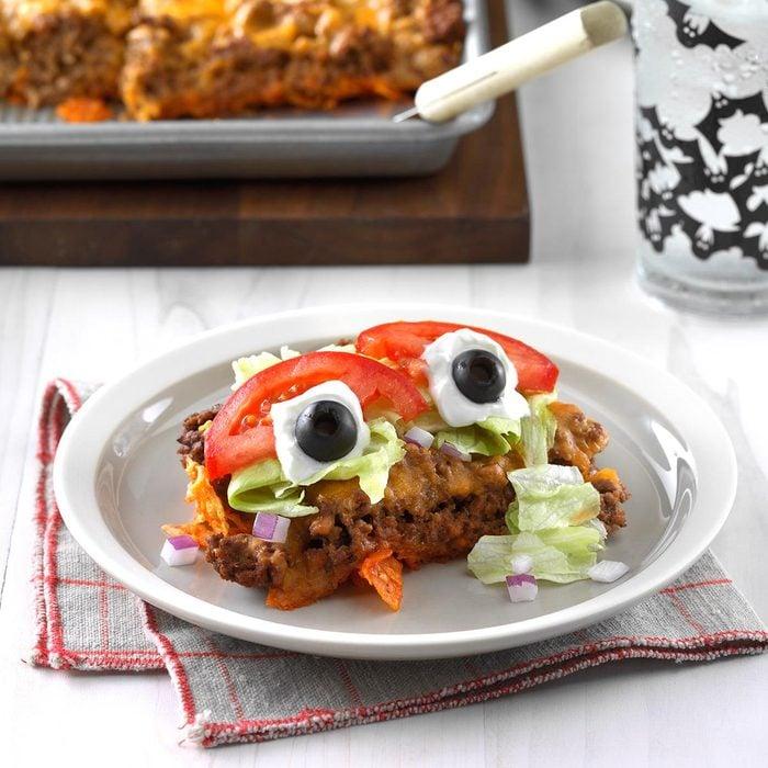 Eyeball Taco Salad