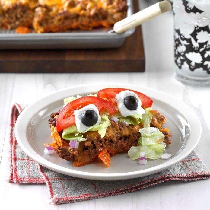 Day 31: Eyeball Taco Salad