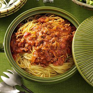 Family-Favorite Spaghetti Sauce