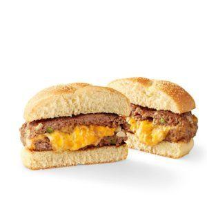 Family-Friendly Stuffed Cheeseburgers