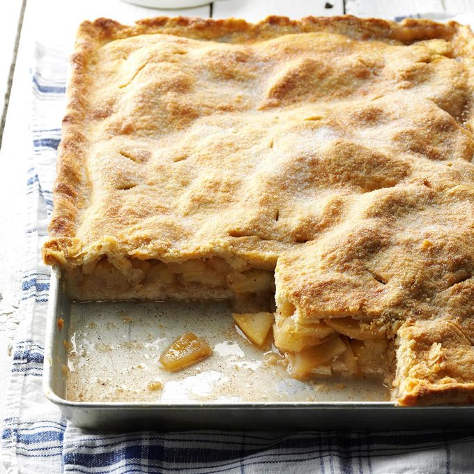 Farm Apple Pan Pie
