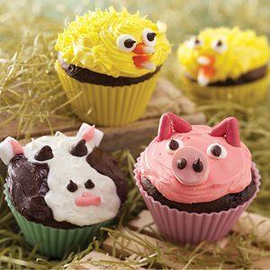 Farm Friend Cupcakes