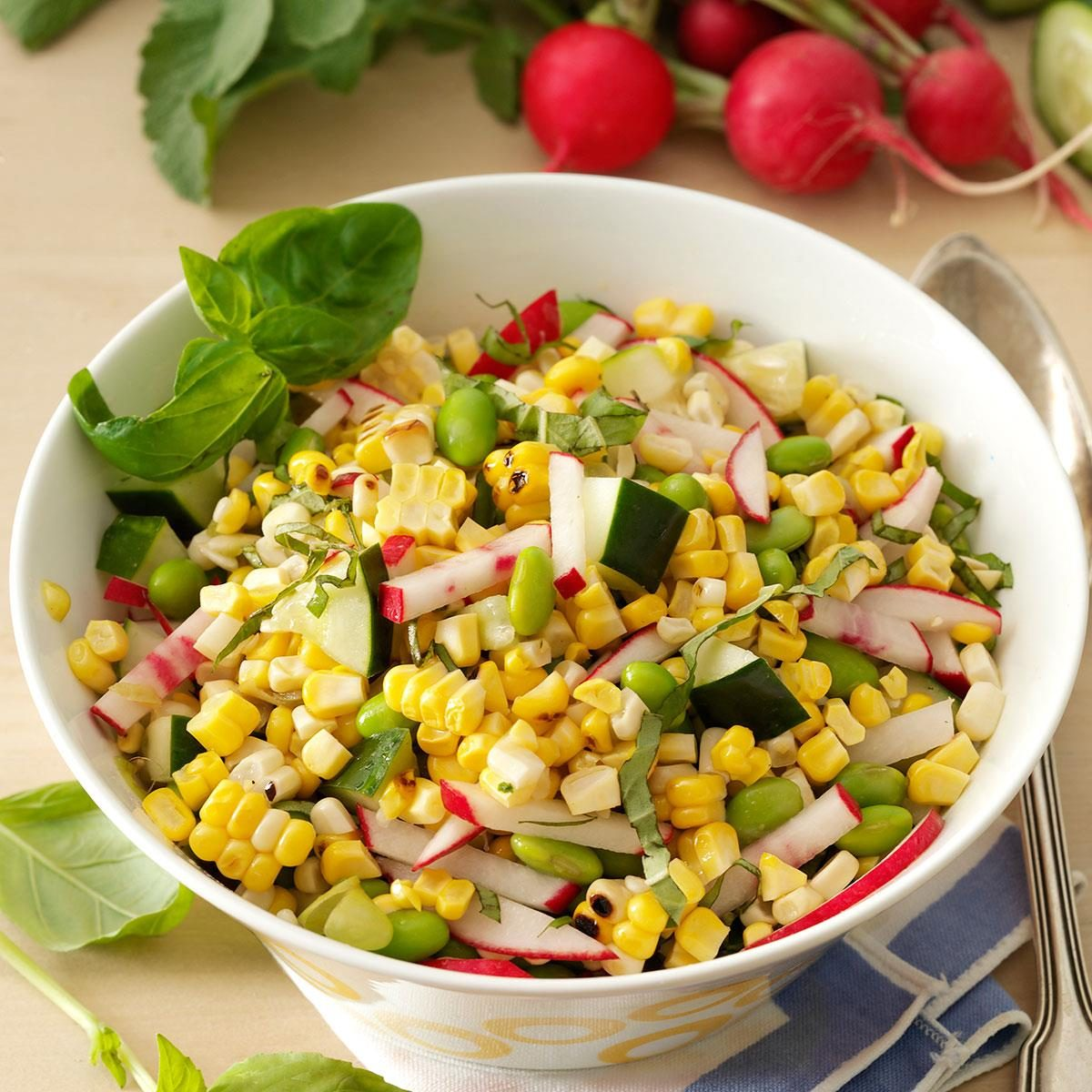 Sweet Corn: Farmers Market Corn Salad