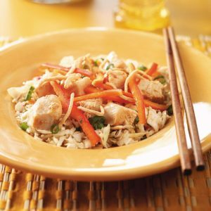 Fast & Fabulous Thai Chicken Salad