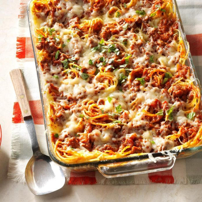 Day 6: Favorite Baked Spaghetti