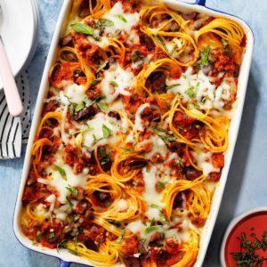 Favorite Baked Spaghetti