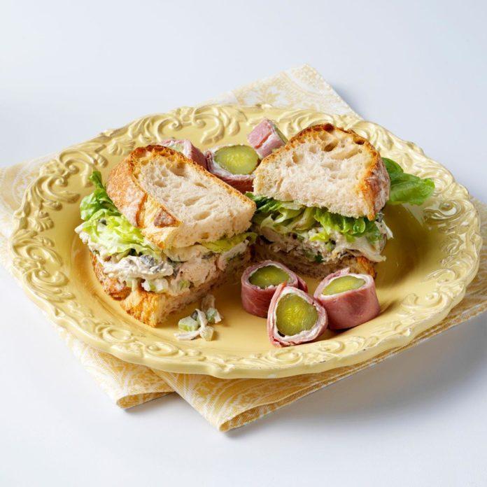 Favorite Chicken Salad Sandwiches