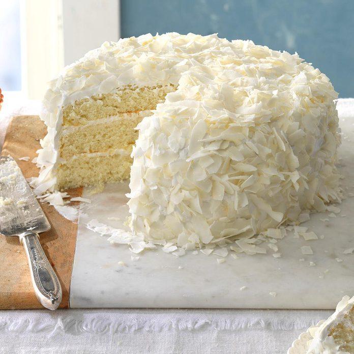 Favorite Coconut Cake