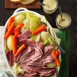 Grover Cleveland's Favorite: Corned Beef and Cabbage