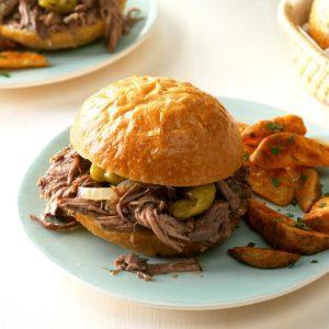 Favorite Italian Beef Sandwiches