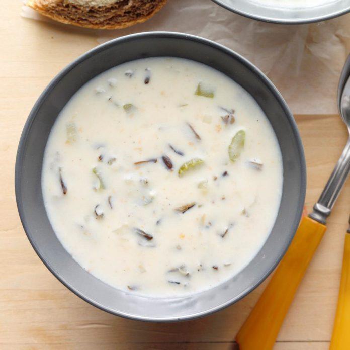 Favorite Wild Rice Soup