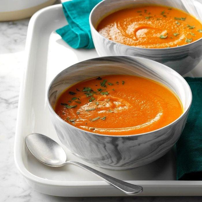 Fennel Carrot Soup