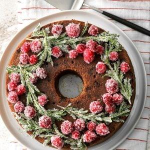 Festive Cranberry Cake