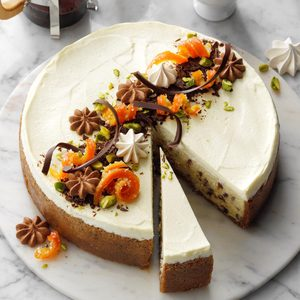 Festive Holiday Cheesecake