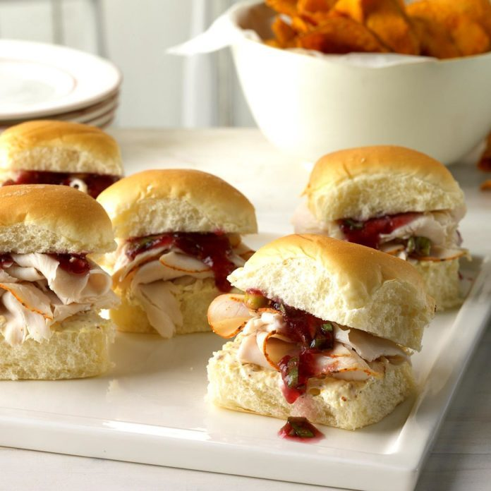 Festive Holiday Sliders