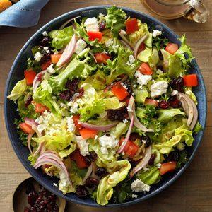 Festive Tossed Salad with Feta