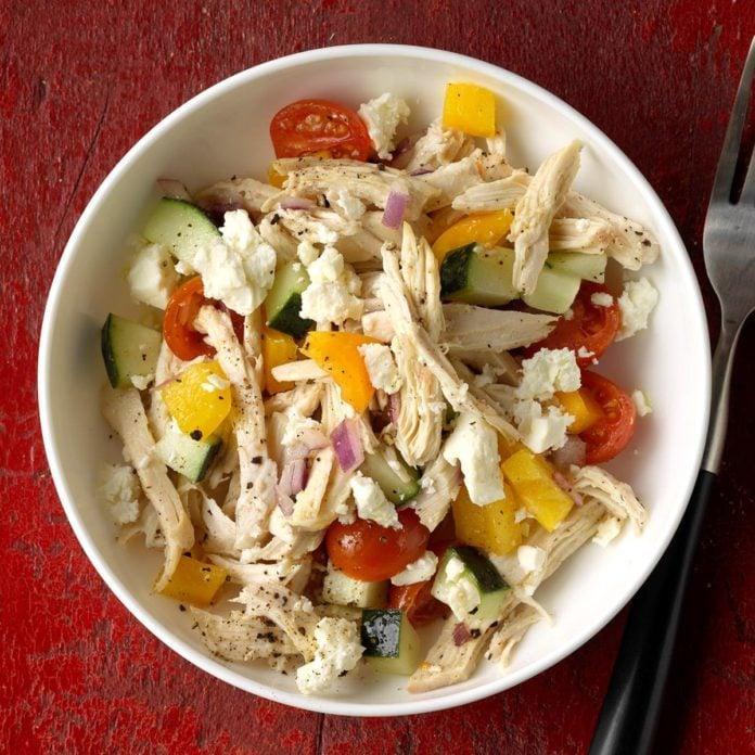 Day 29: Feta Chicken Salad