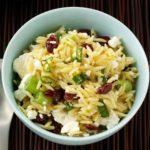 Feta & Cranberry Orzo Salad