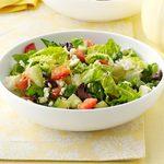Feta Romaine Salad