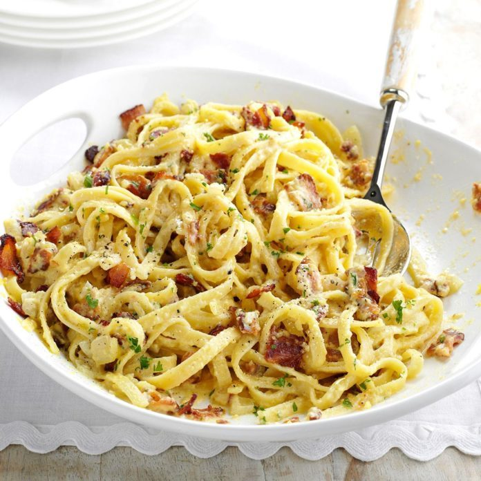 Inspired by: Cheesecake Factory Pasta Carbonara