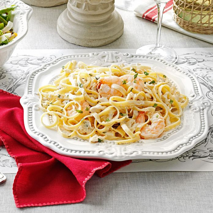 Inspired by: Crab Linguine Alfredo
