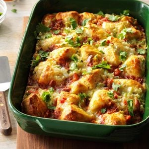 Fiesta Breakfast Bake