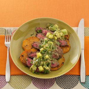 Fiesta Grilled Flank Steak