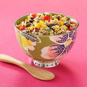 Fiesta Rice and Bean Salad