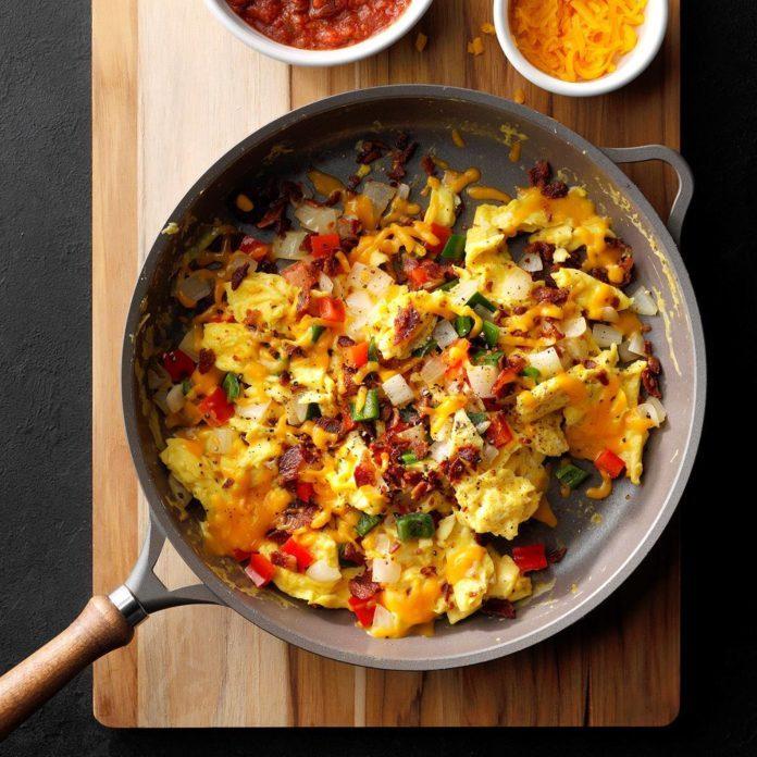 Fiesta Scrambled Eggs
